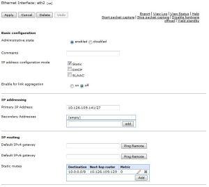 DataPower_Configure_ Ethernet InterfaceEth2