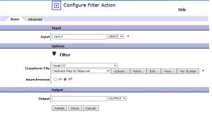 DP_Configure Filter Action